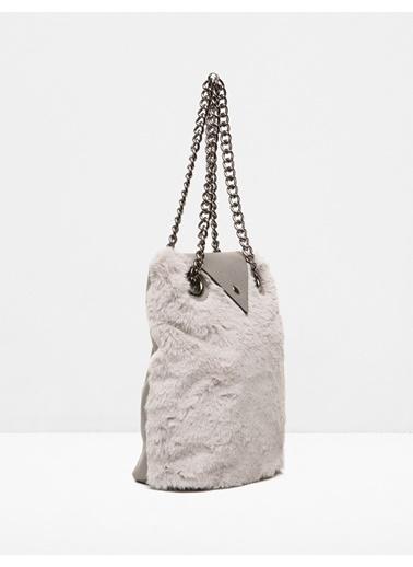 Zincir Askılı Çanta-Koton